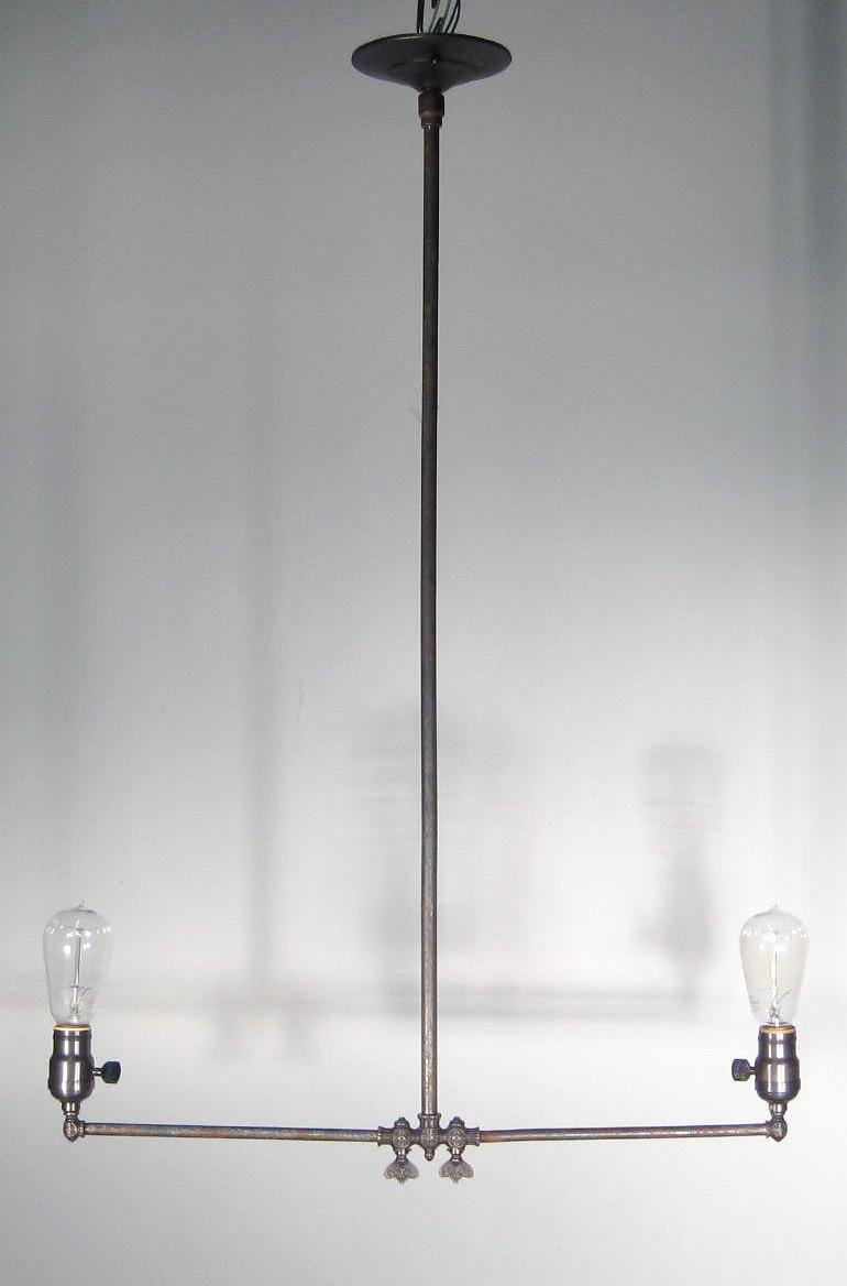 Gas Pendant Fixture 2 Light