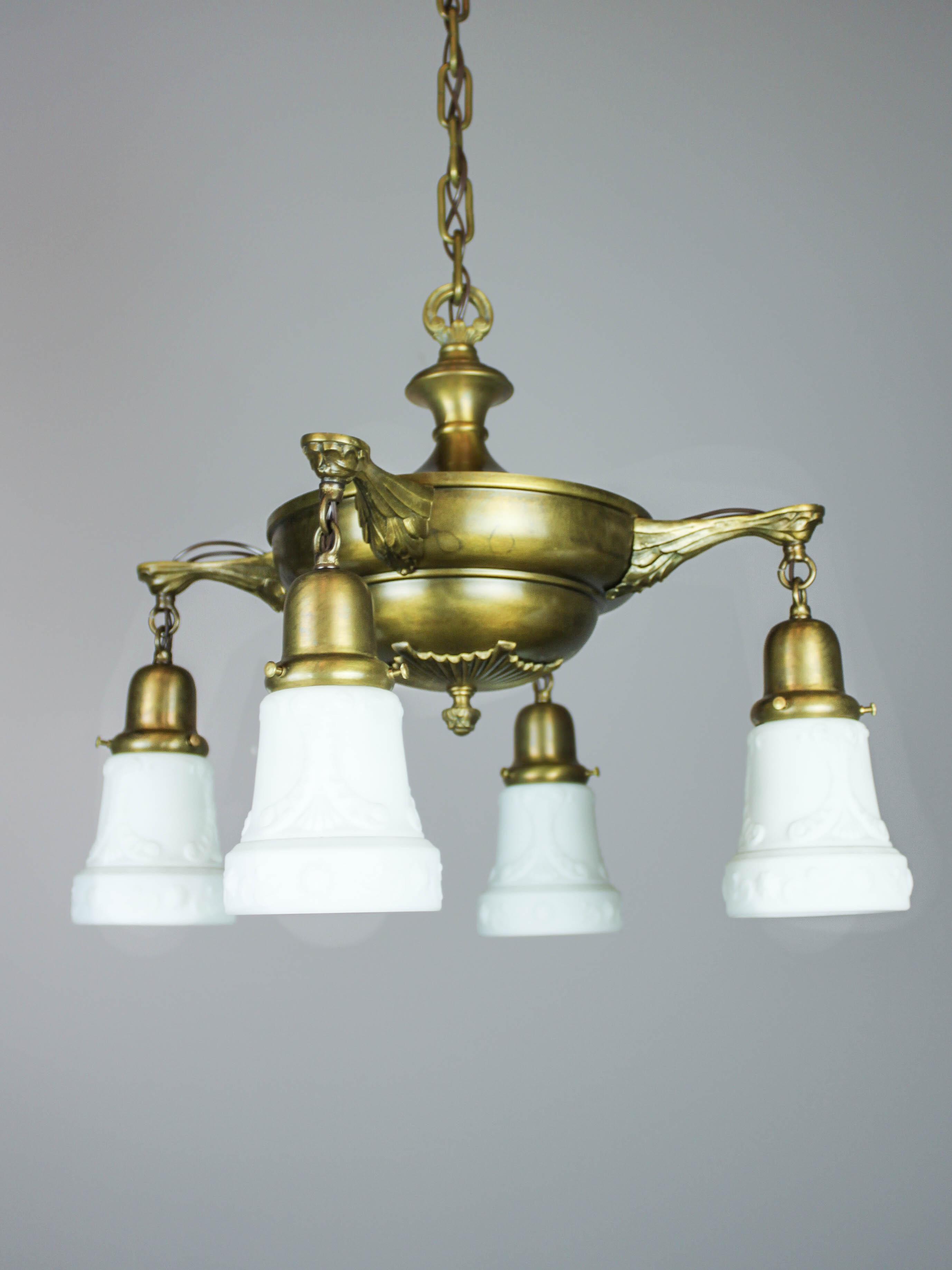 Original Pan Light Fixture 4 Light Renew Gallery