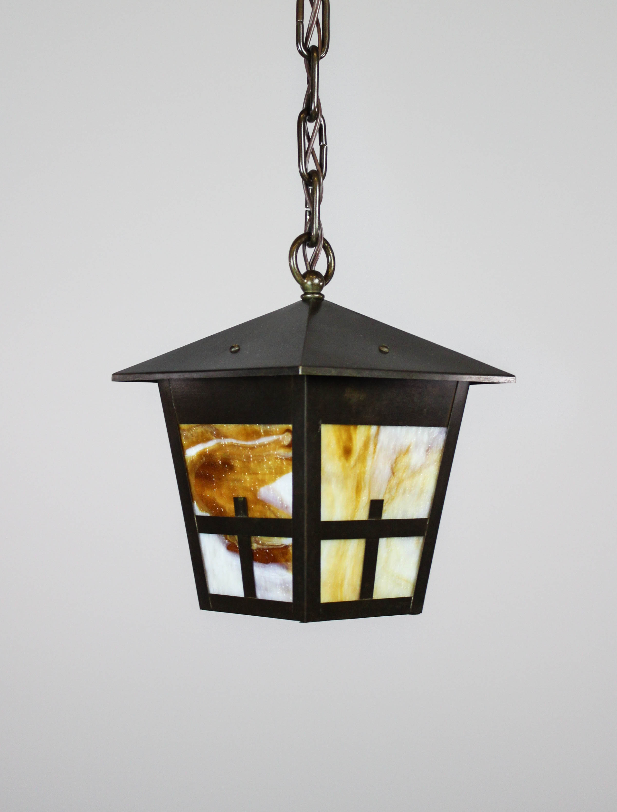 arts crafts mission lantern pendant fixture renew gallery. Black Bedroom Furniture Sets. Home Design Ideas