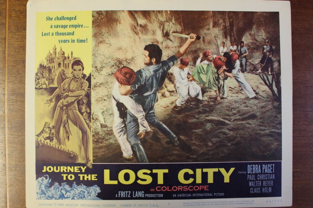 Journey To The Lost City Or Tiger Of Bengal Movie
