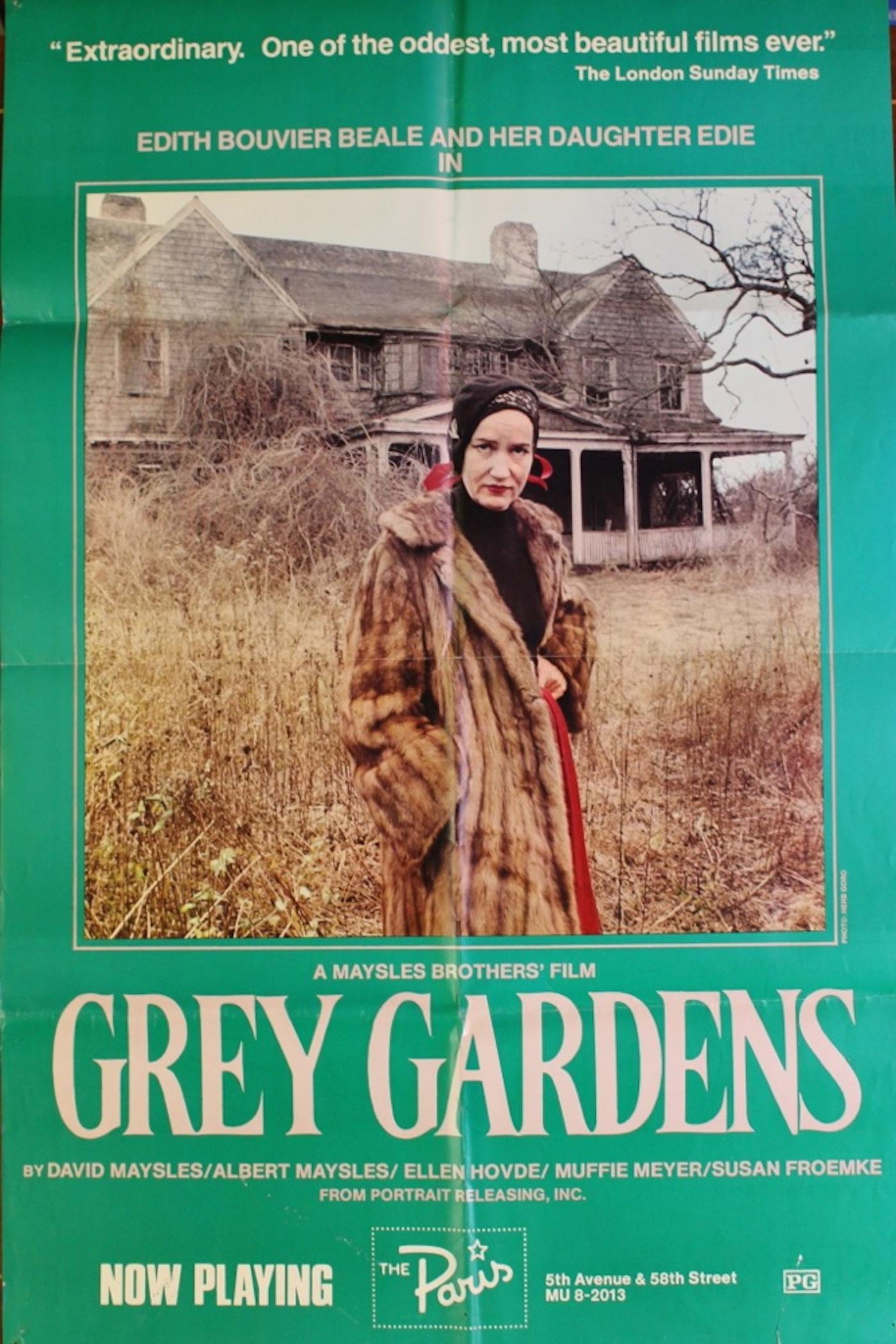 Grey Gardens Movie Poster Renew Gallery
