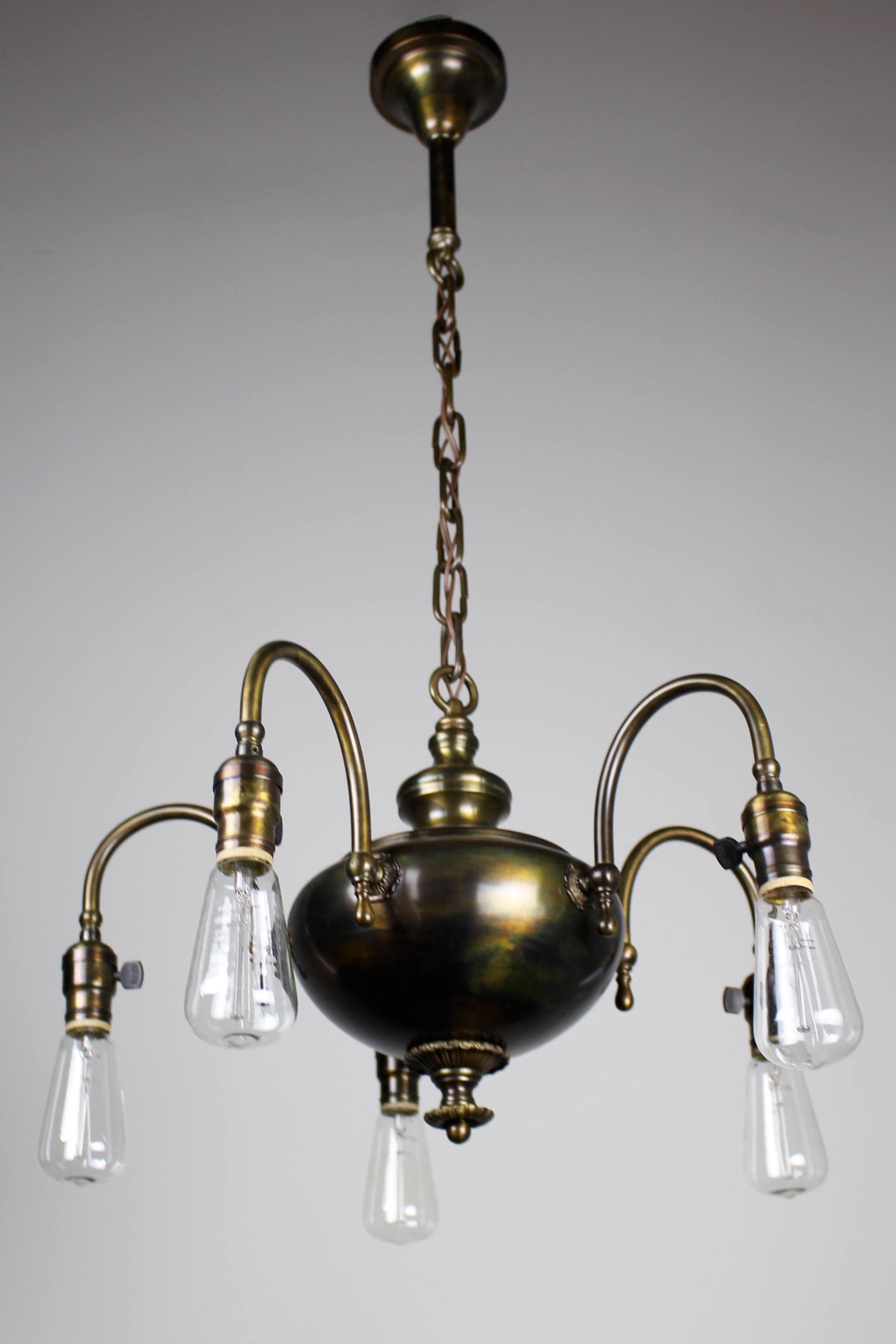 1920s arts crafts fixture 5 light renew gallery