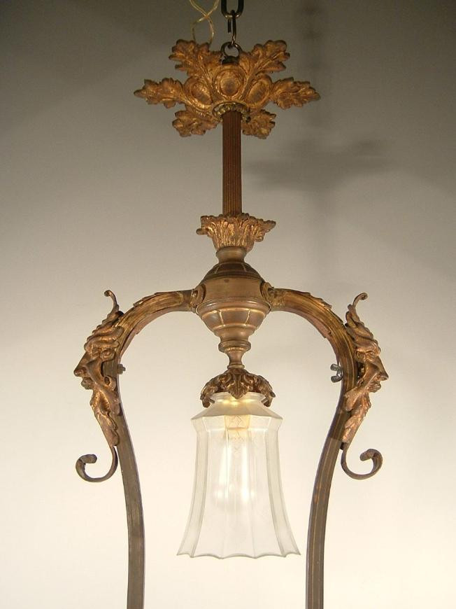 French Pool Table Light Fixture