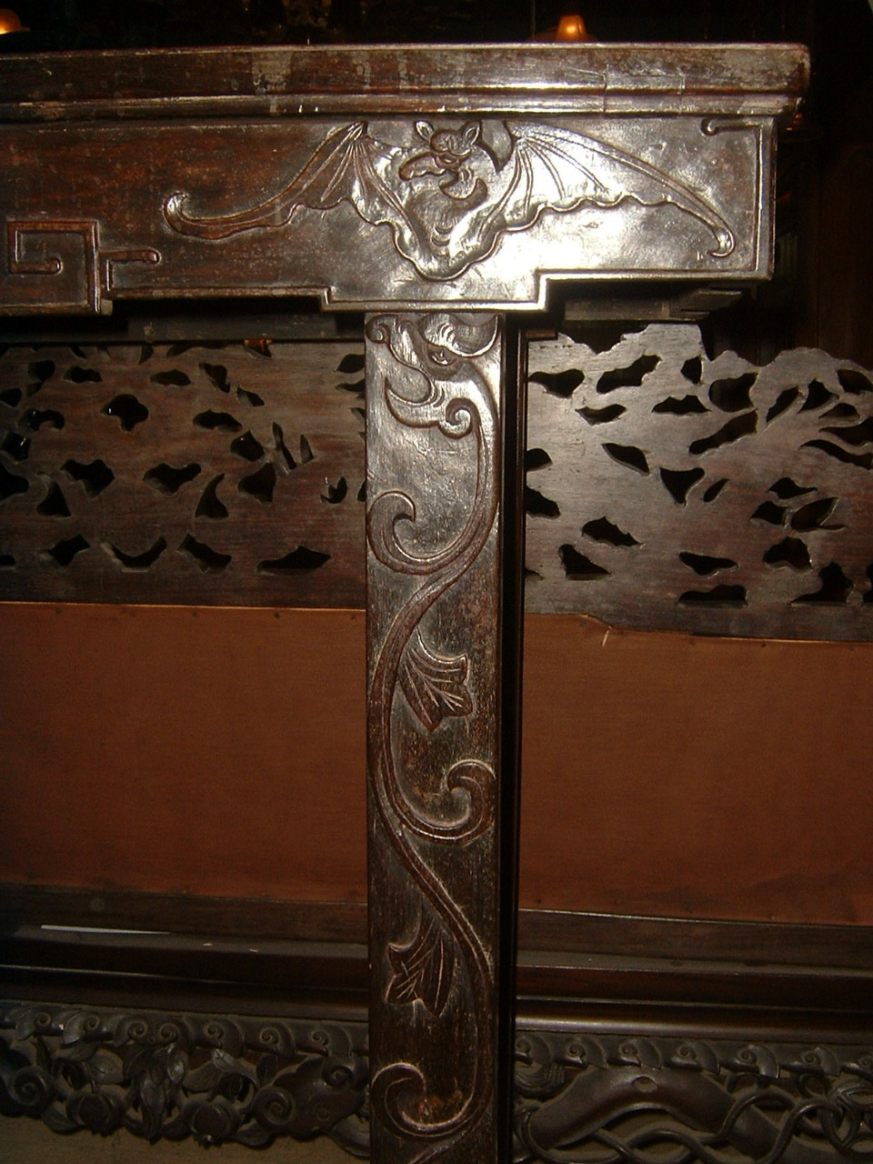 Chinese Teak Altar