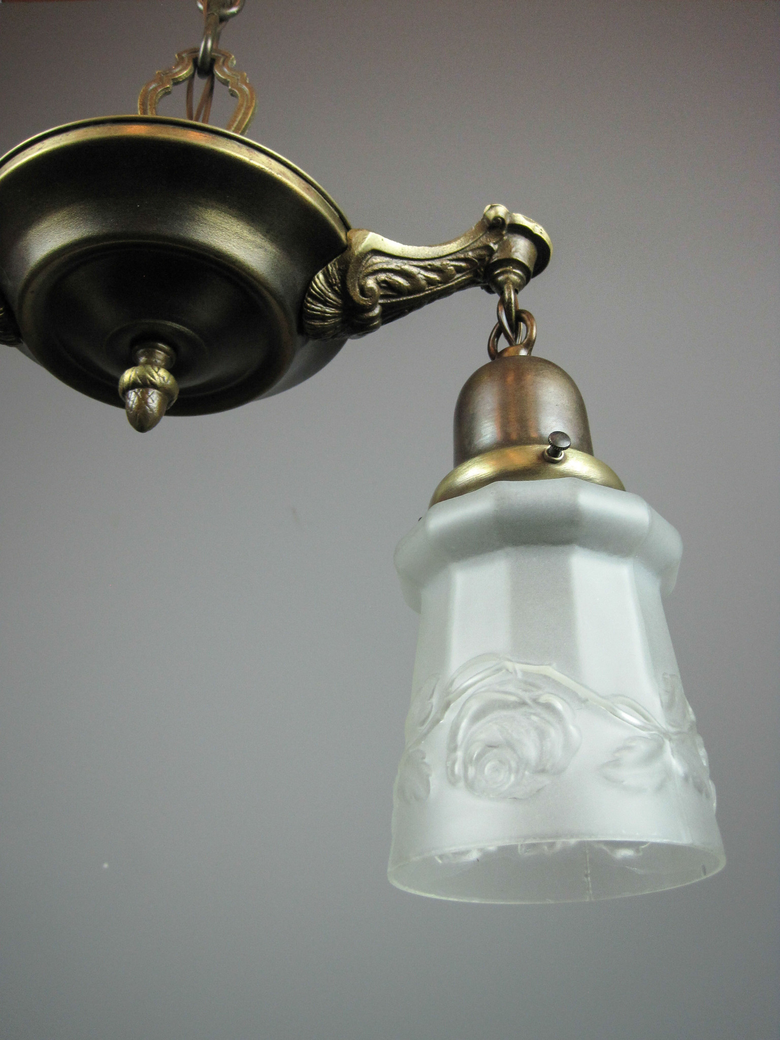 Original Pan Light Fixture 2 Light