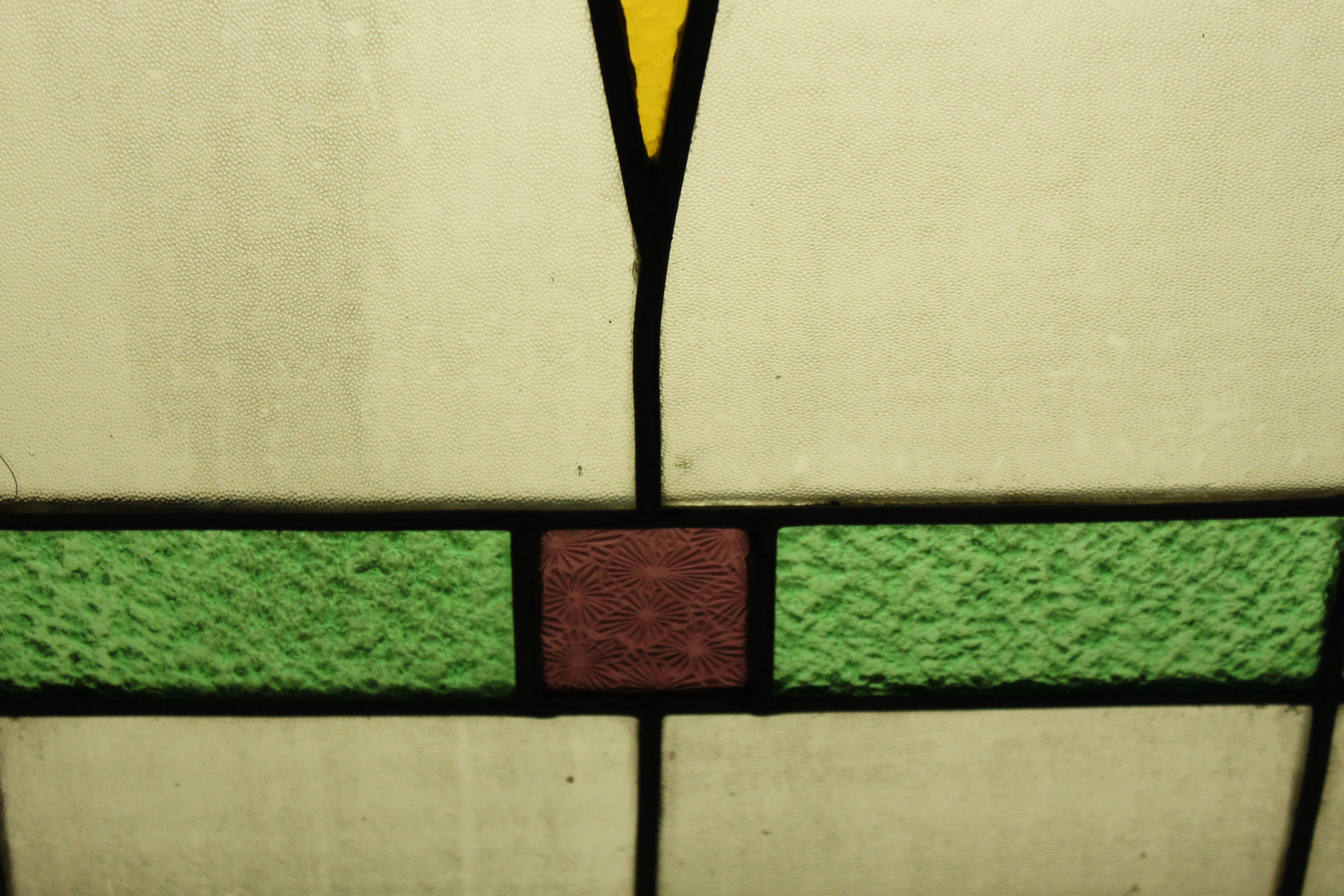 Art Deco Stained Glass Window |