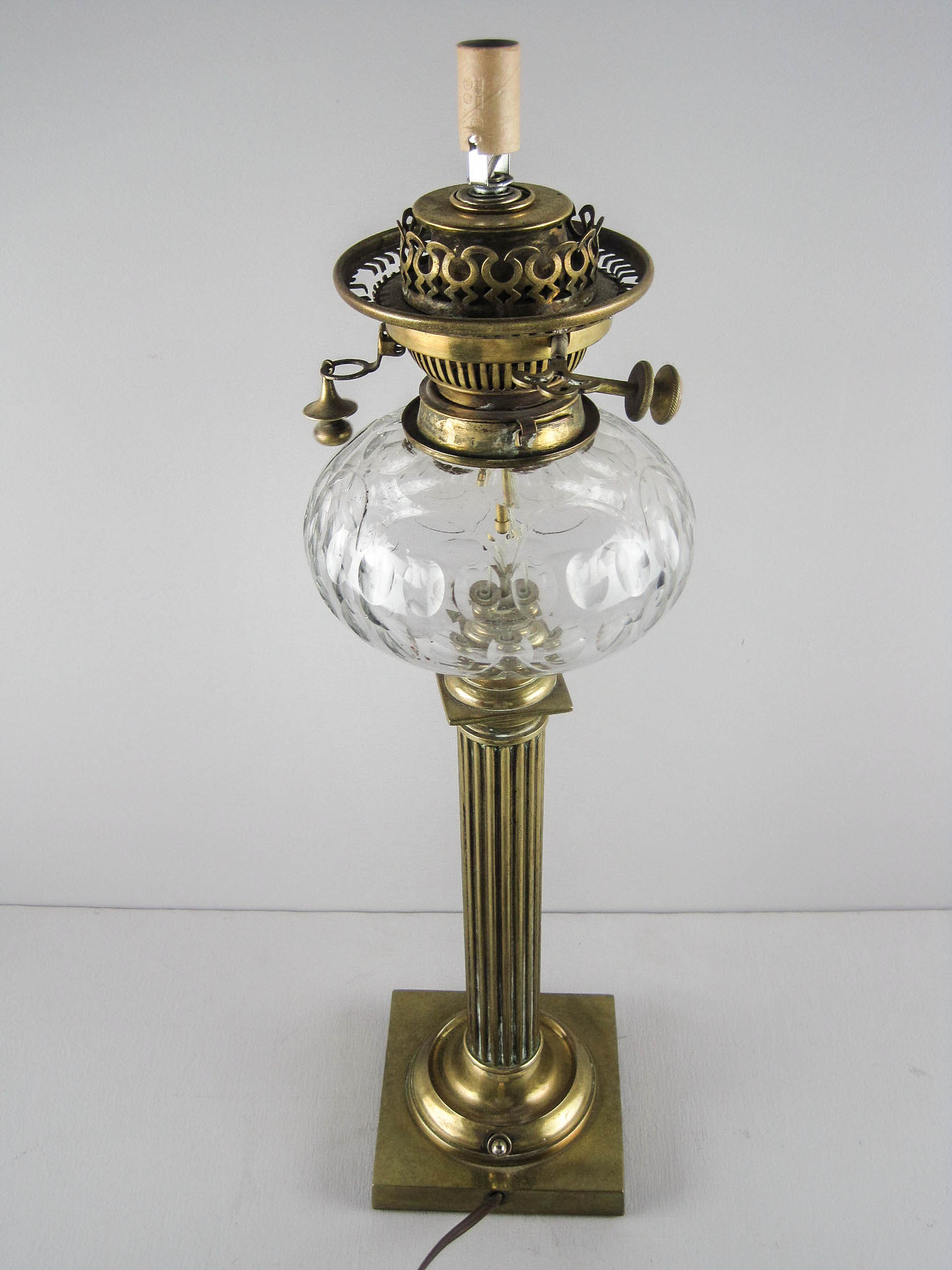 Converted English Oil Lamp
