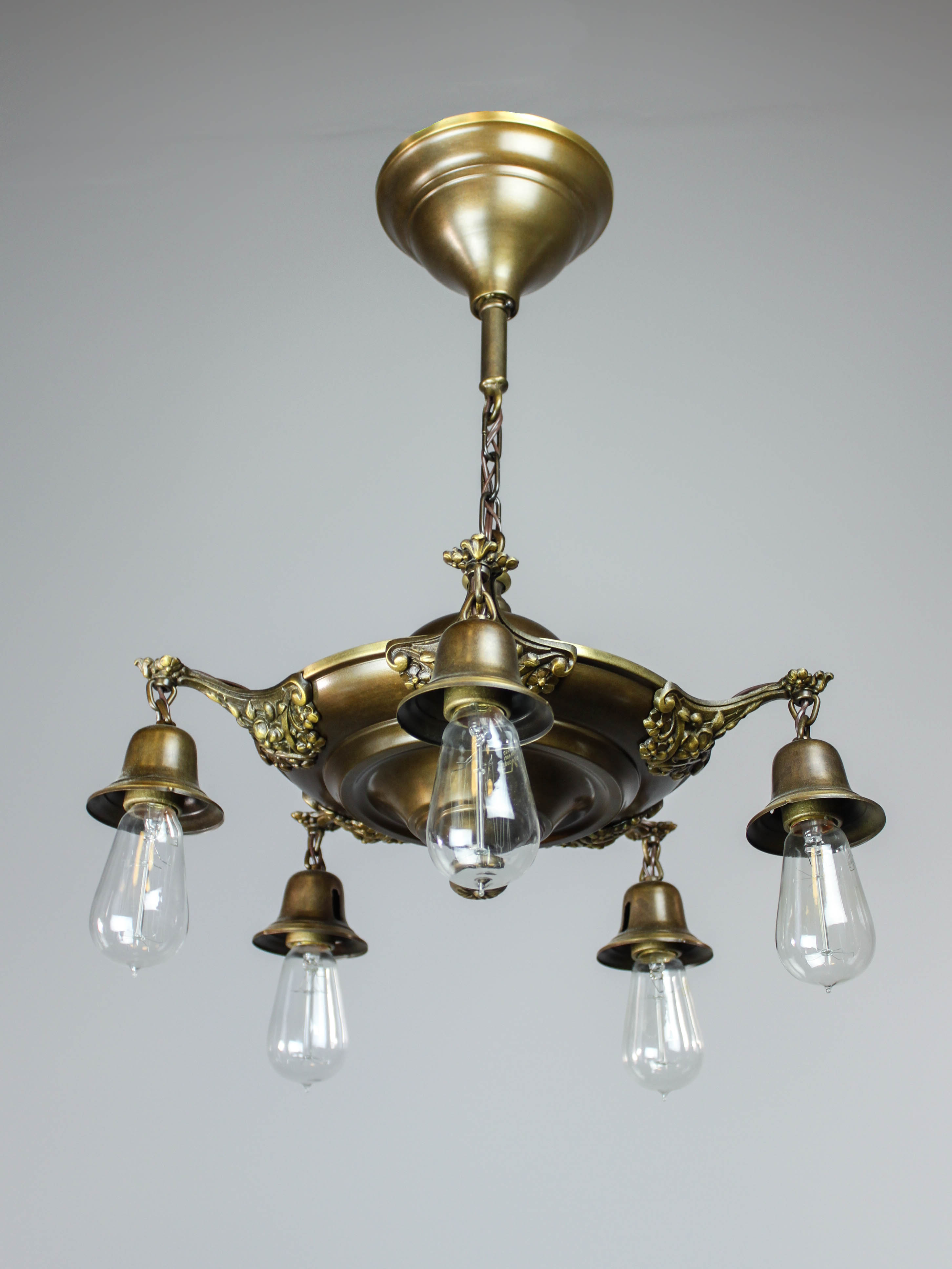 colonial c beardslee chandelier revival antique by
