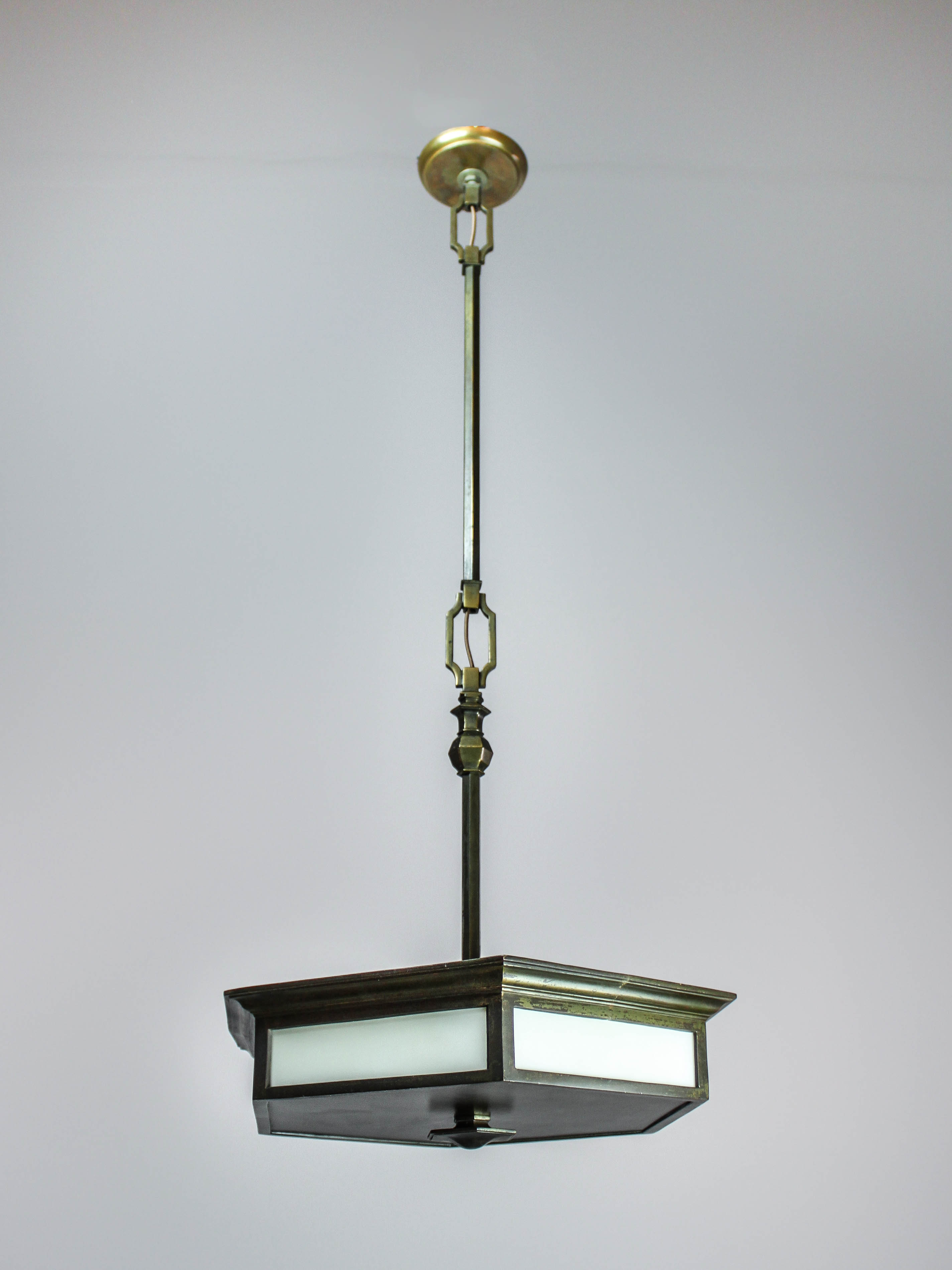 Tiffany studios pendant light 3 light