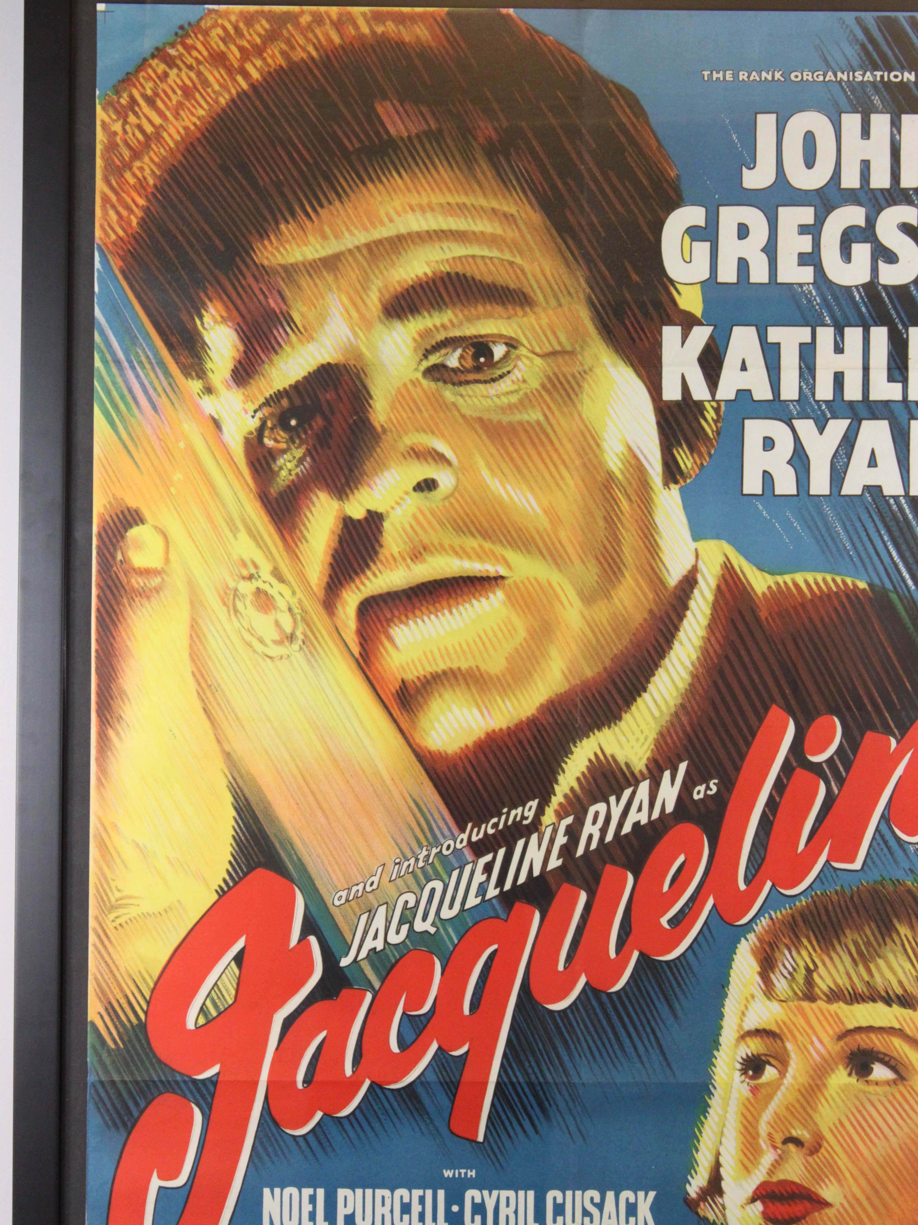Jacqueline Vintage Movie Poster
