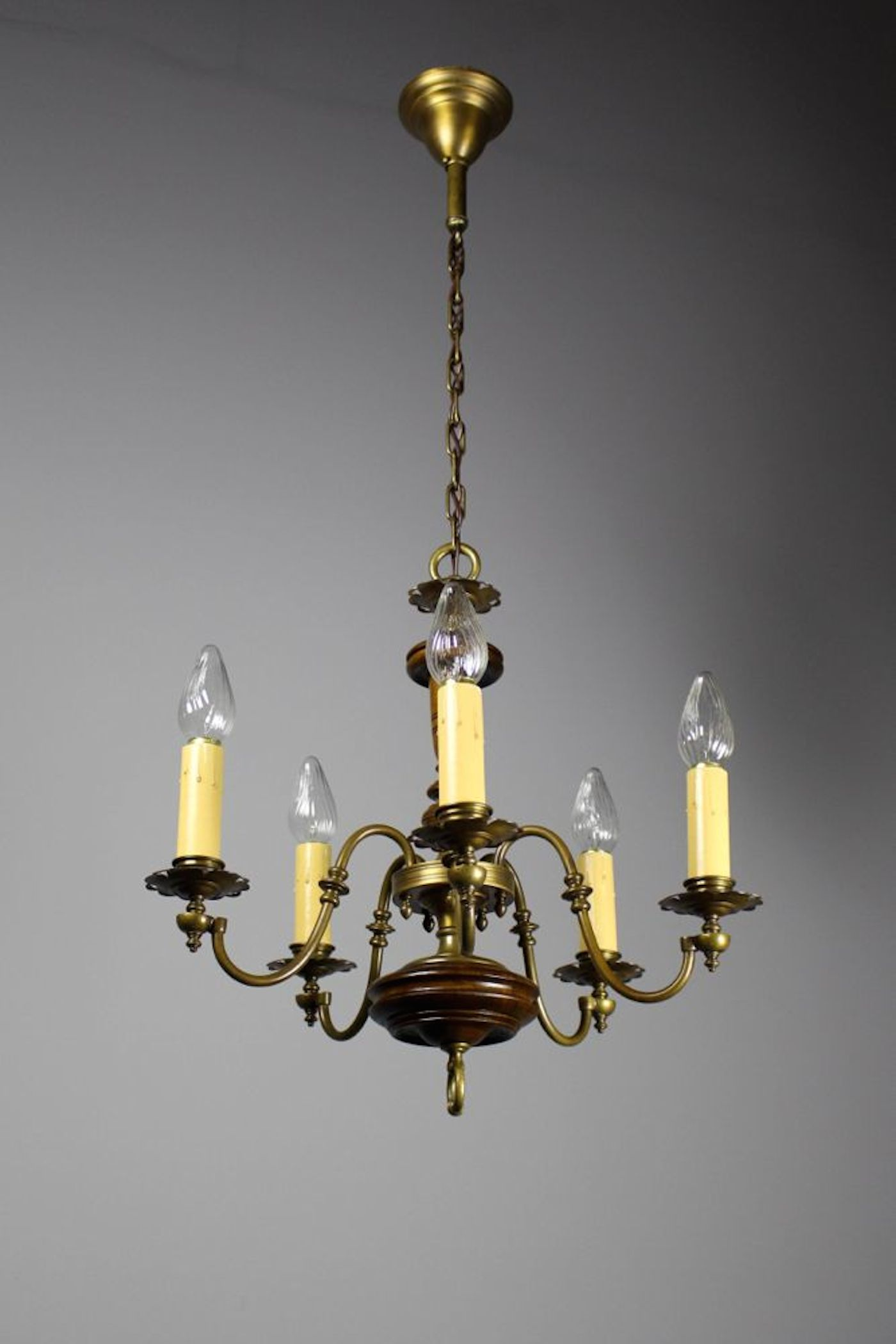 colonial x nickel products h finish polished w indoor chandelier