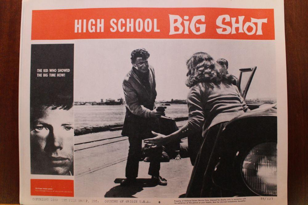 High School Big Shot Movie Poster Amp Set Of Lobby Cards