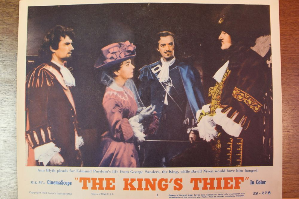 King S Thief Movie Poster Amp Set Of Lobby Cards