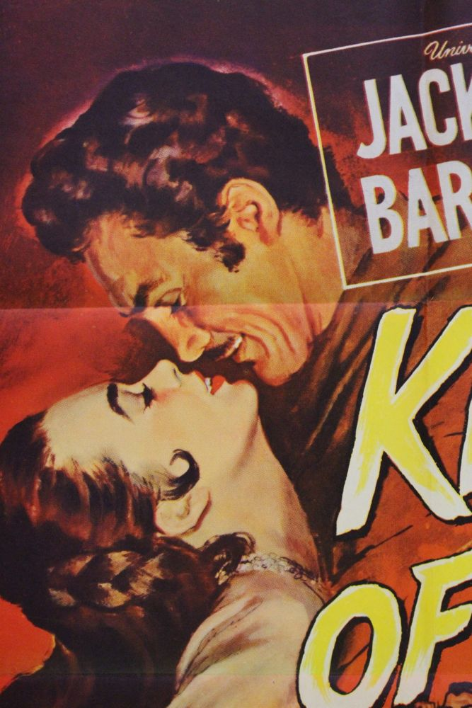 Kiss Of Fire Movie Poster Amp Set Of Lobby Cards