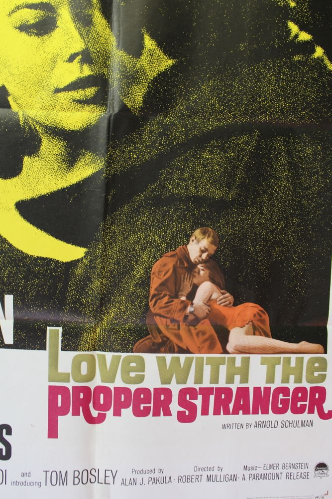 Love With The Proper Stranger Movie Poster Set Of Lobby Cards