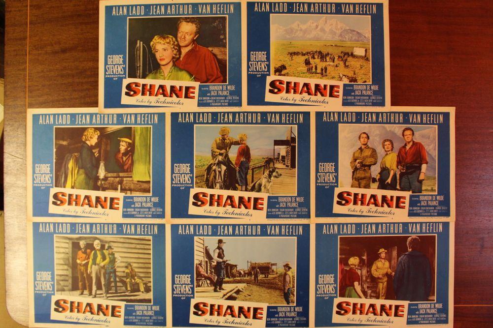 Shane Movie Poster Amp Set Of Lobby Cards