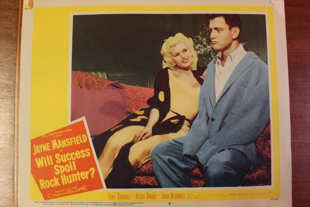 �will success spoil rock hunter� movie poster amp set of