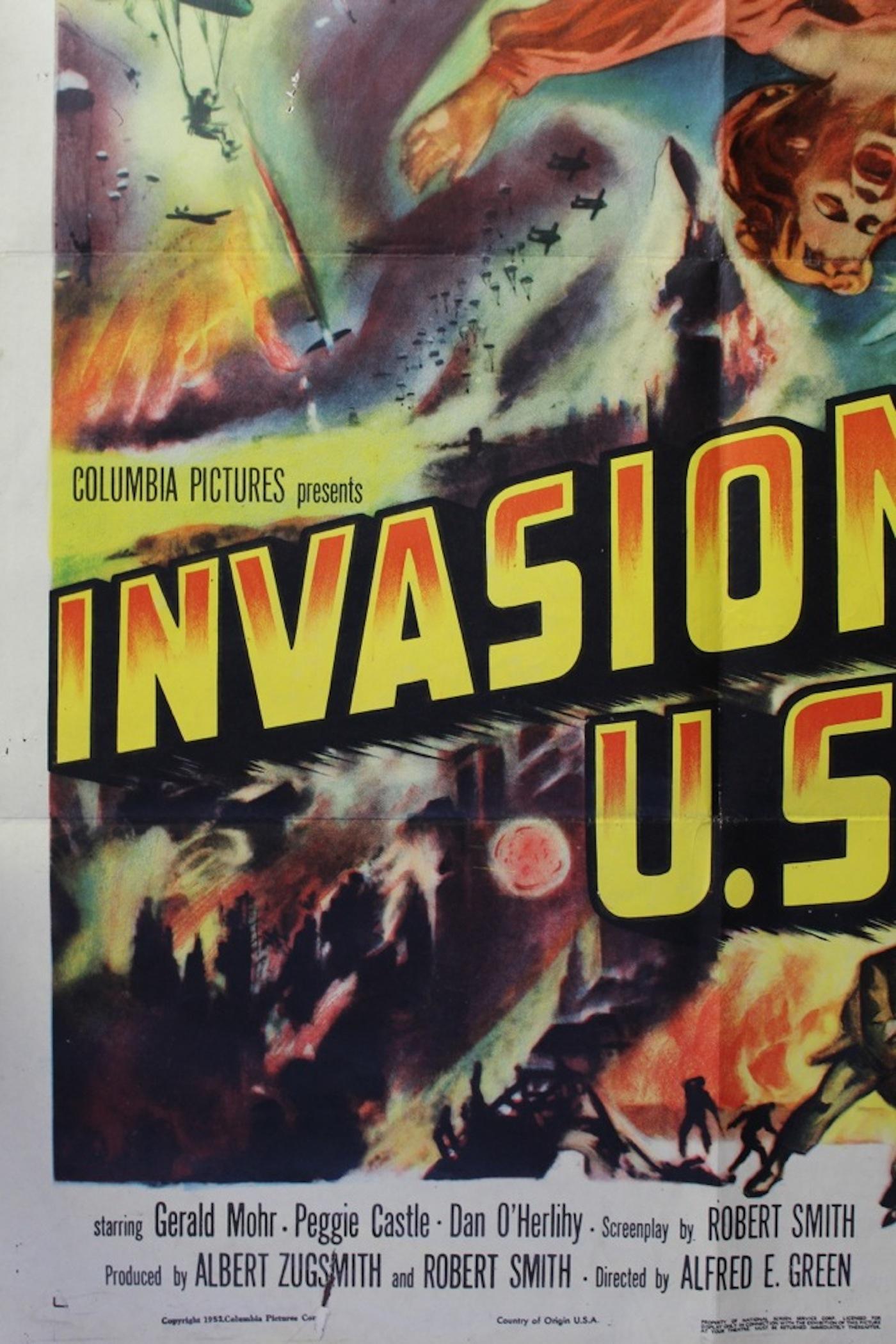 �invasion usa� movie poster