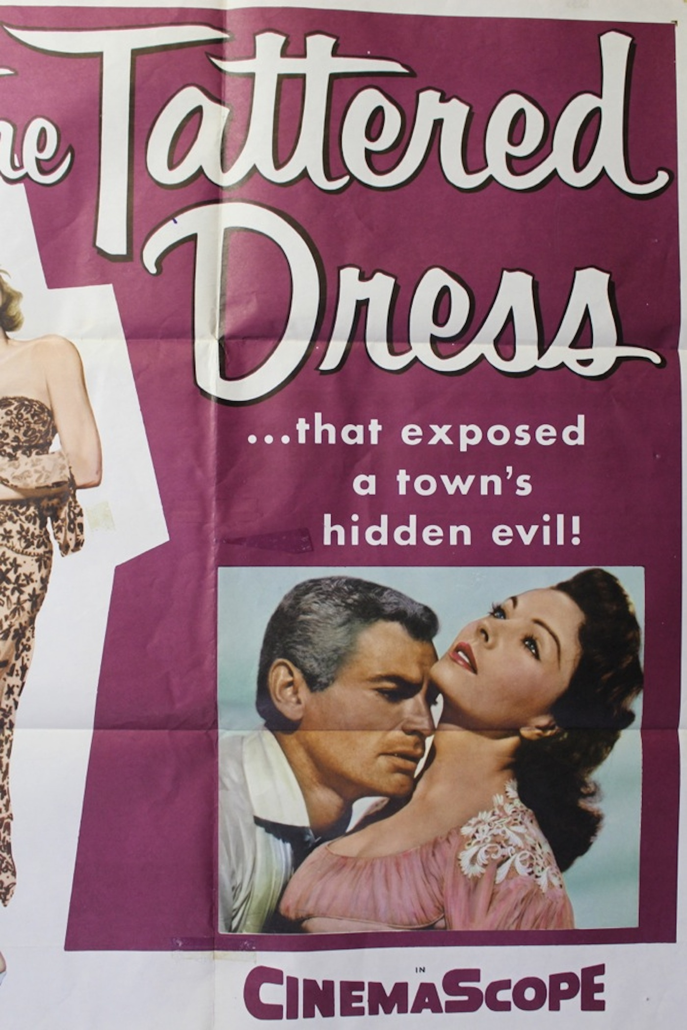 The Tattered Dress Movie Poster