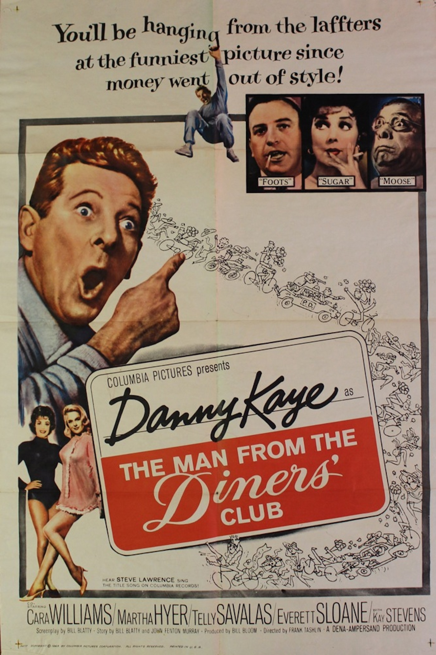 man from the diners club movie poster. Black Bedroom Furniture Sets. Home Design Ideas