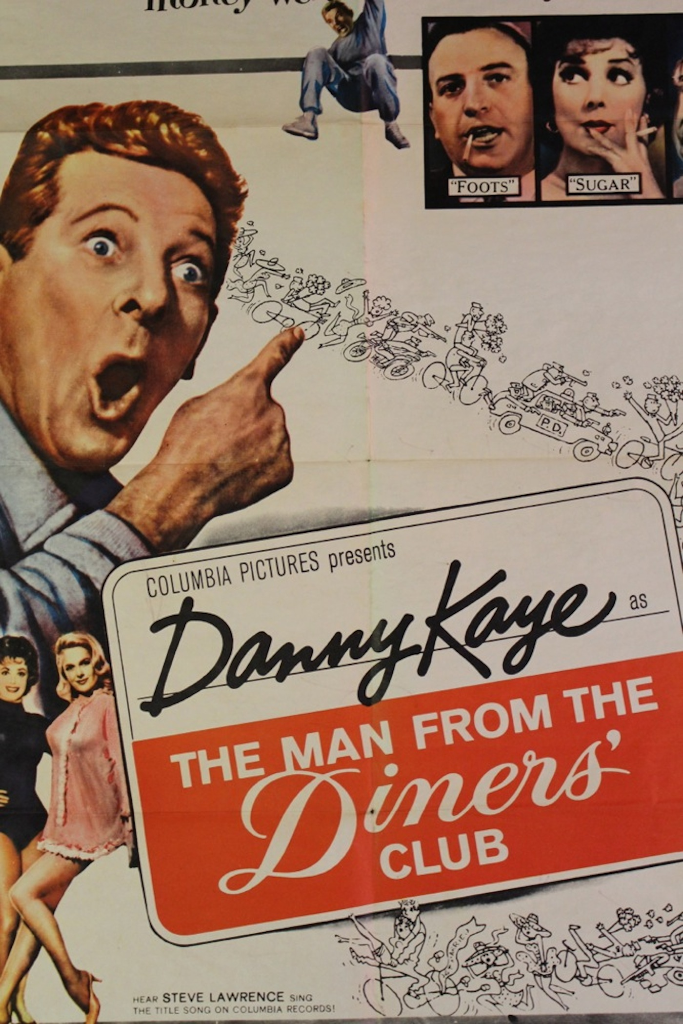 Man From The Diners Club Movie Poster