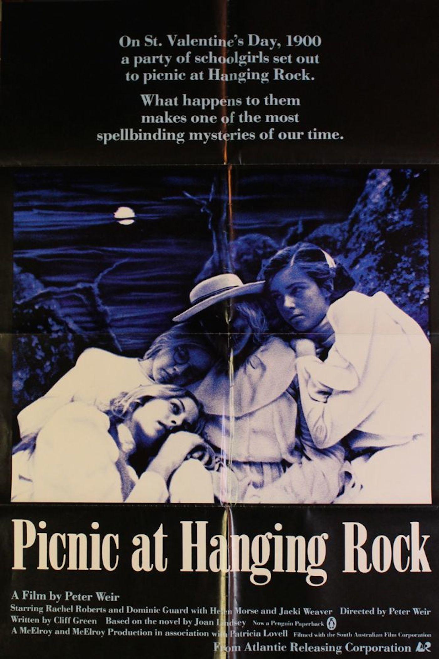 "Picnic At Hanging Rock"" Movie Poster |"