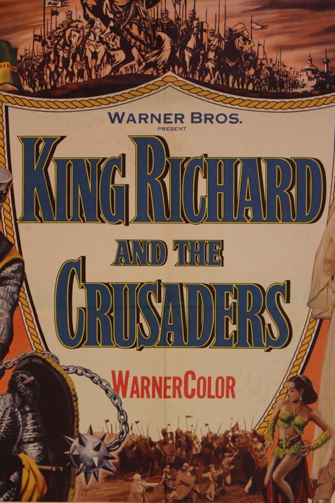 u201cking richard and the crusaders u201d movie poster
