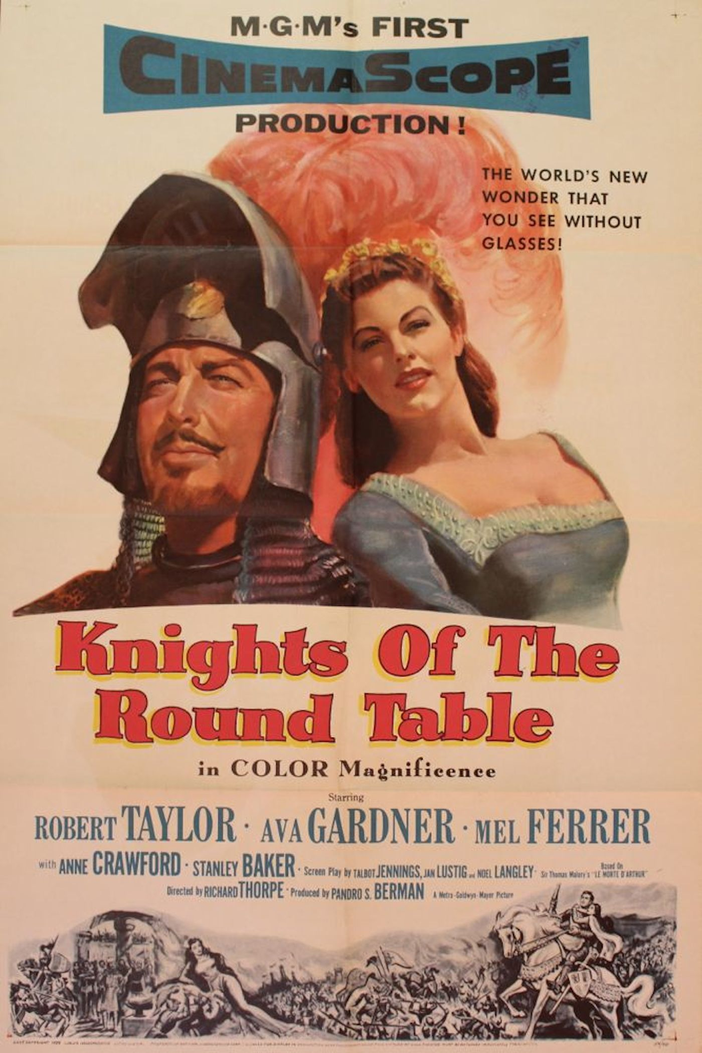 Knights Of The Round Table Movie Poster