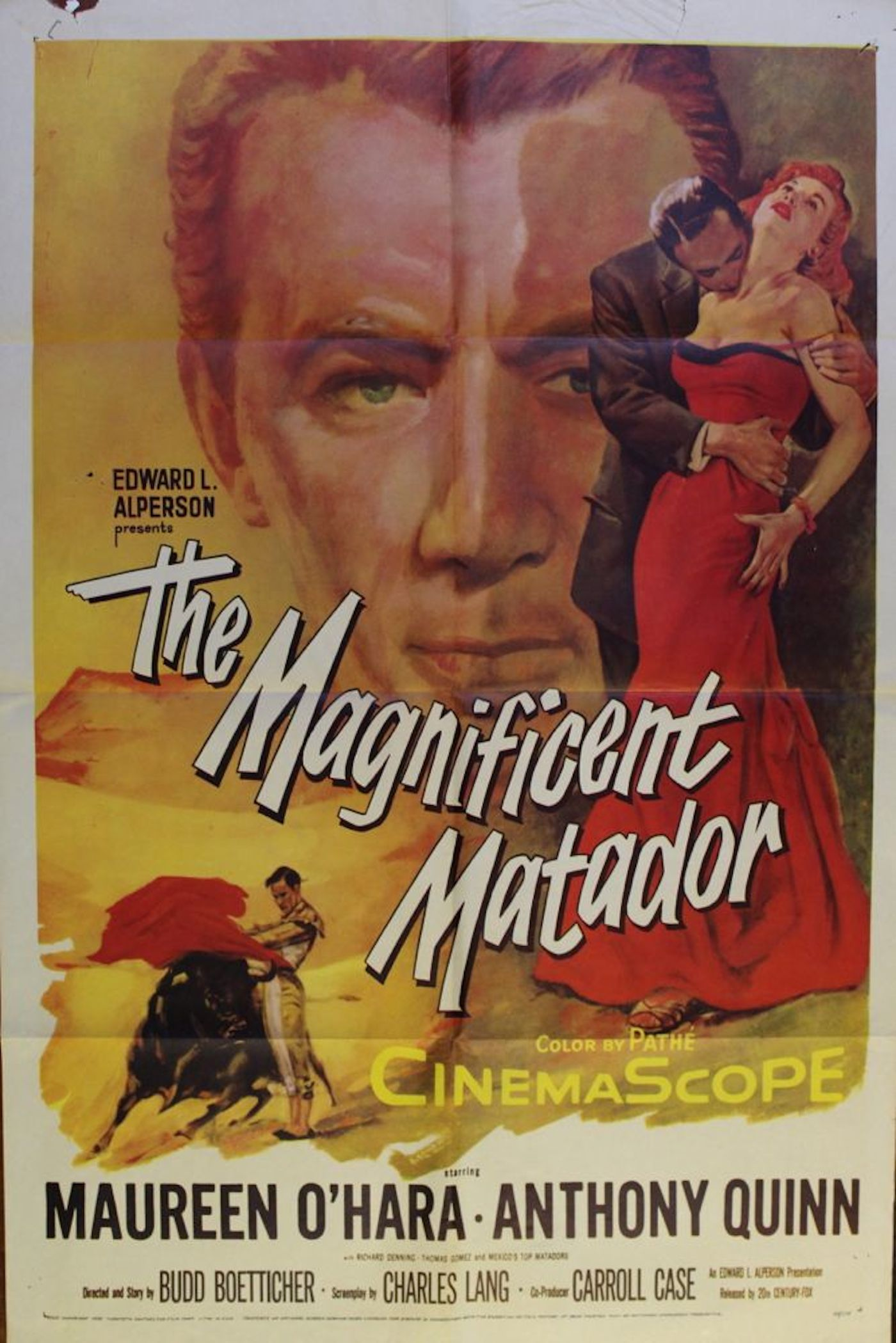 Magnificent Matador Movie Poster