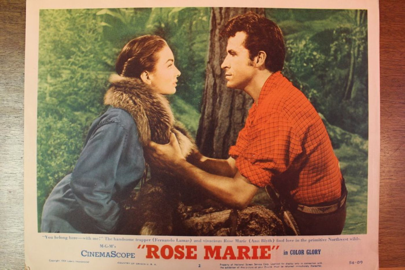 Rose Marie Movie Poster Amp 7 Lobby Cards