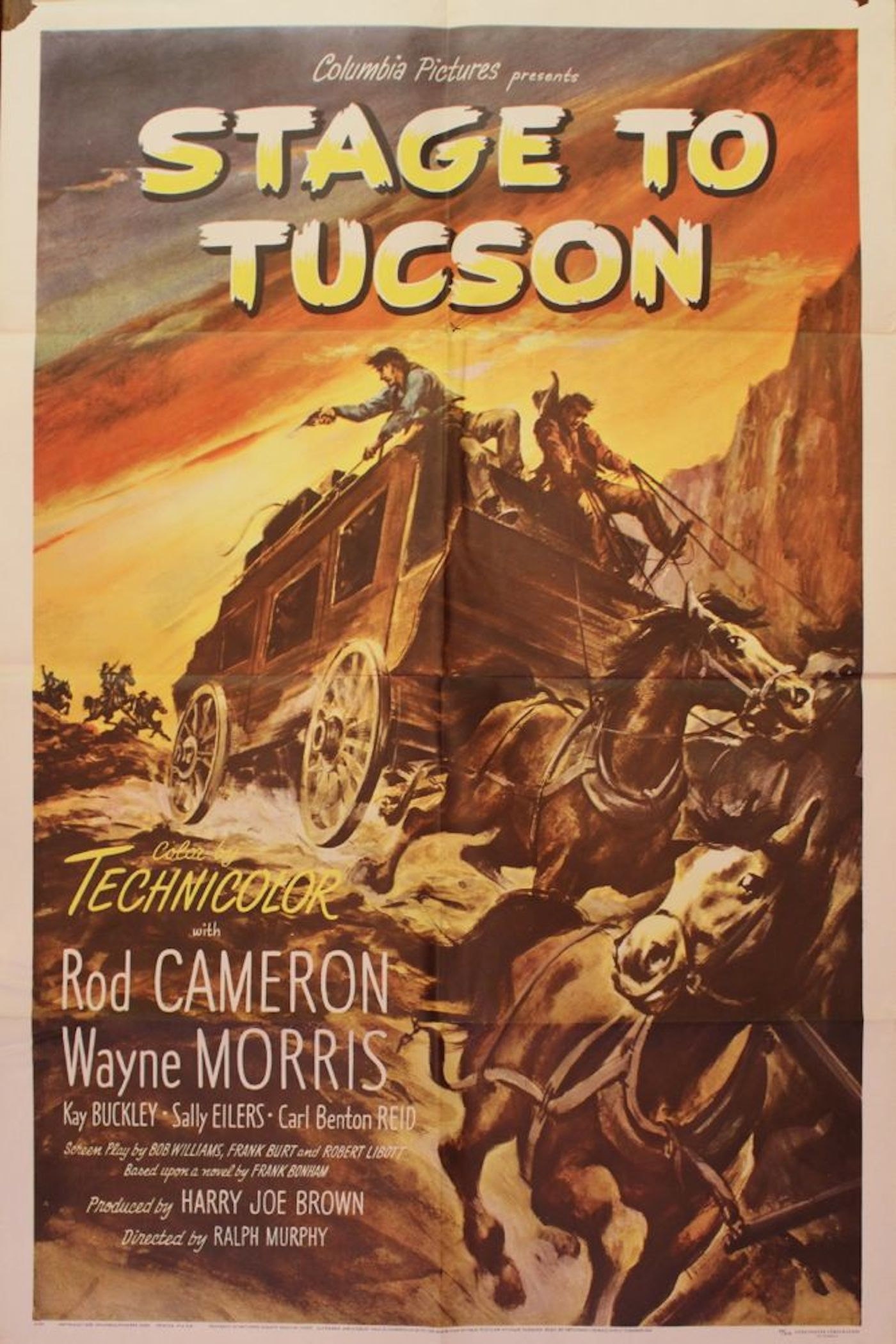 Stage To Tucson Movie Poster