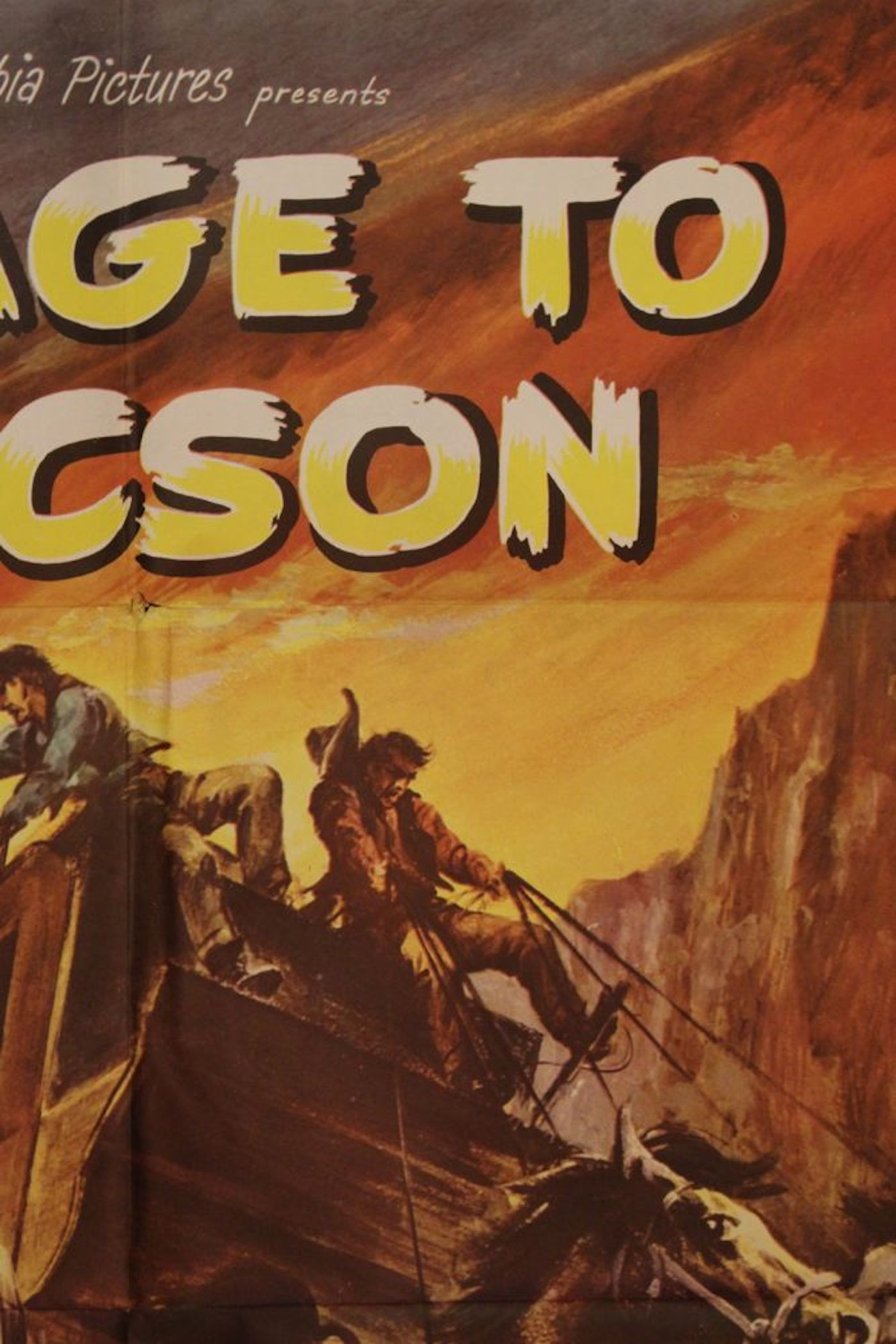 """Stage to Tucson"" Movie Poster"