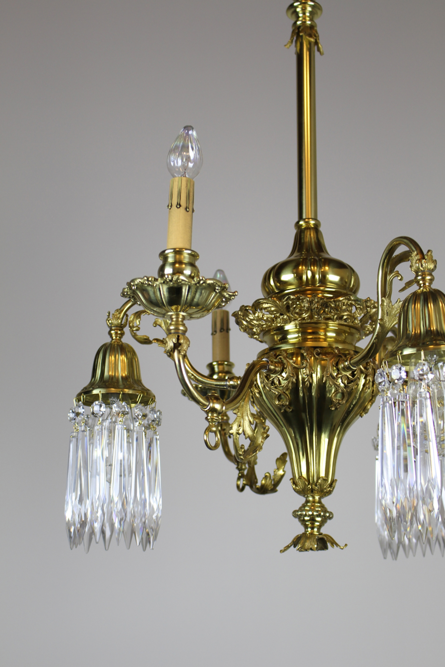 See more Antique Ceiling Lights ... & Converted Gas-Electric Decorative Sheffield-Style Chandelier |