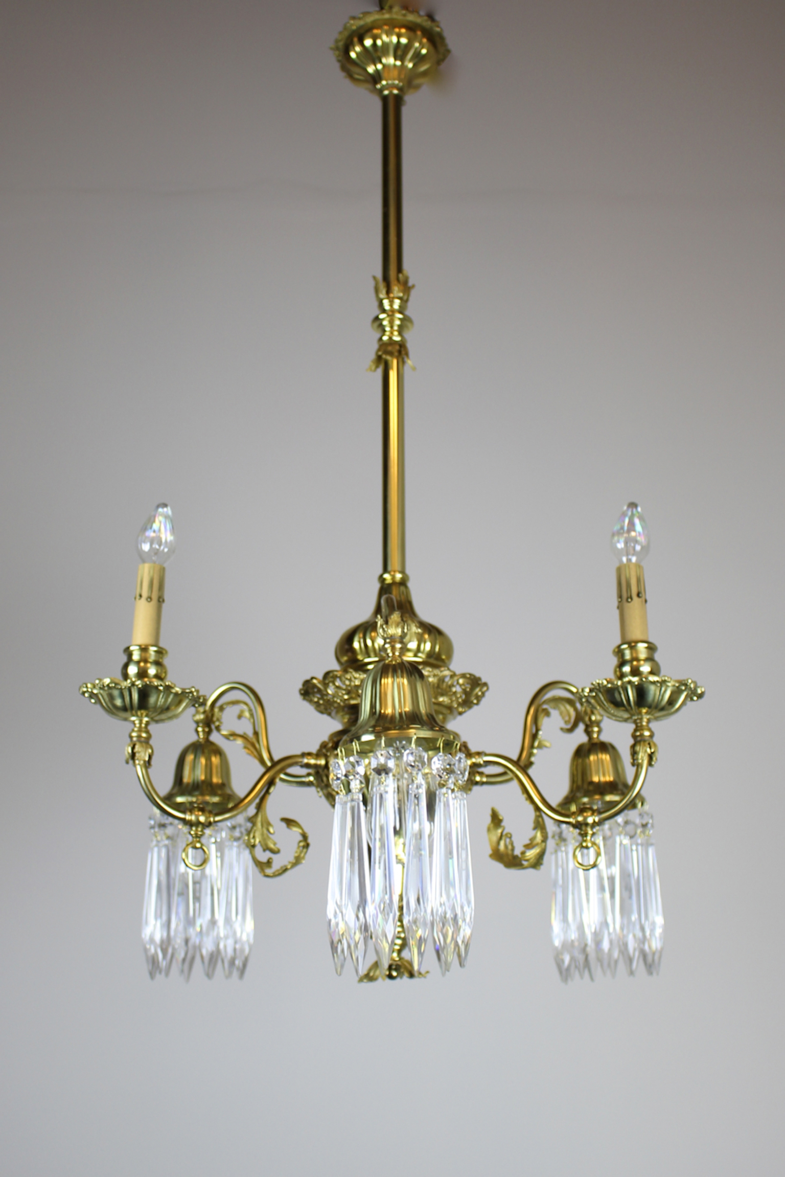 See ... & Converted Gas-Electric Decorative Sheffield-Style Chandelier | azcodes.com