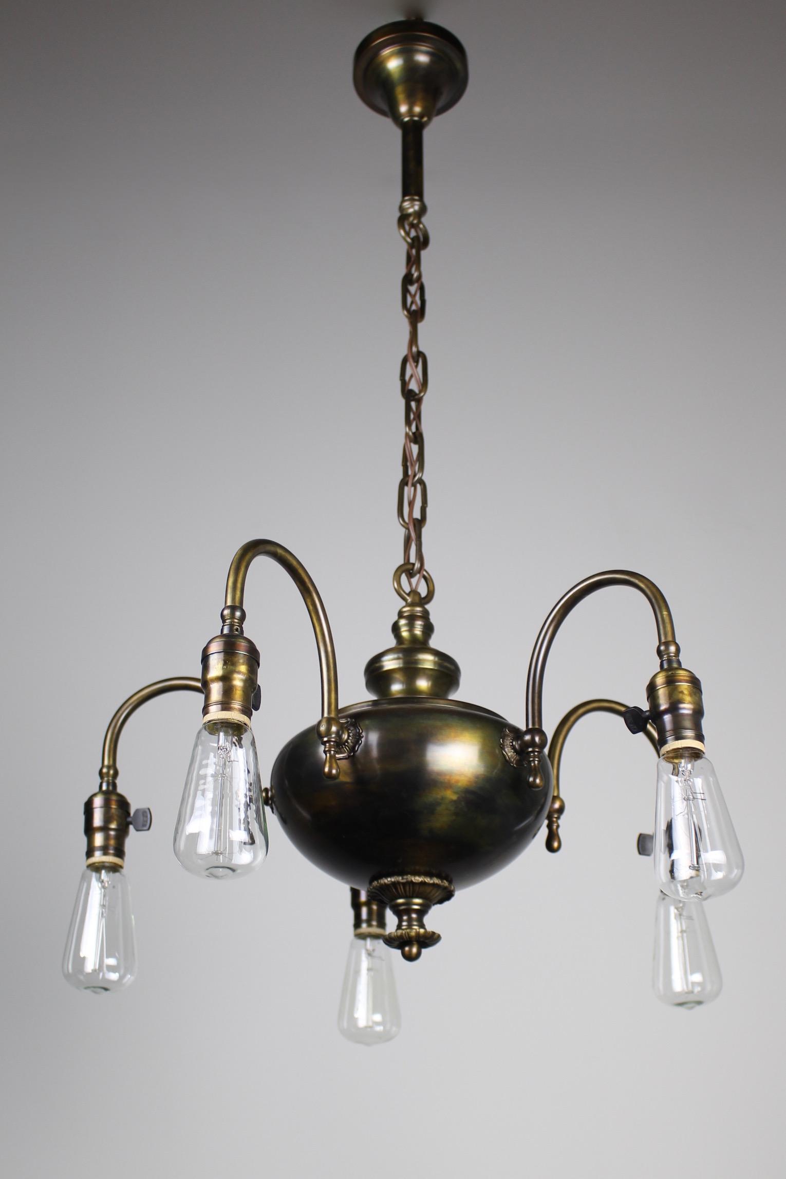 1920s arts crafts fixture 5 light see arubaitofo Gallery