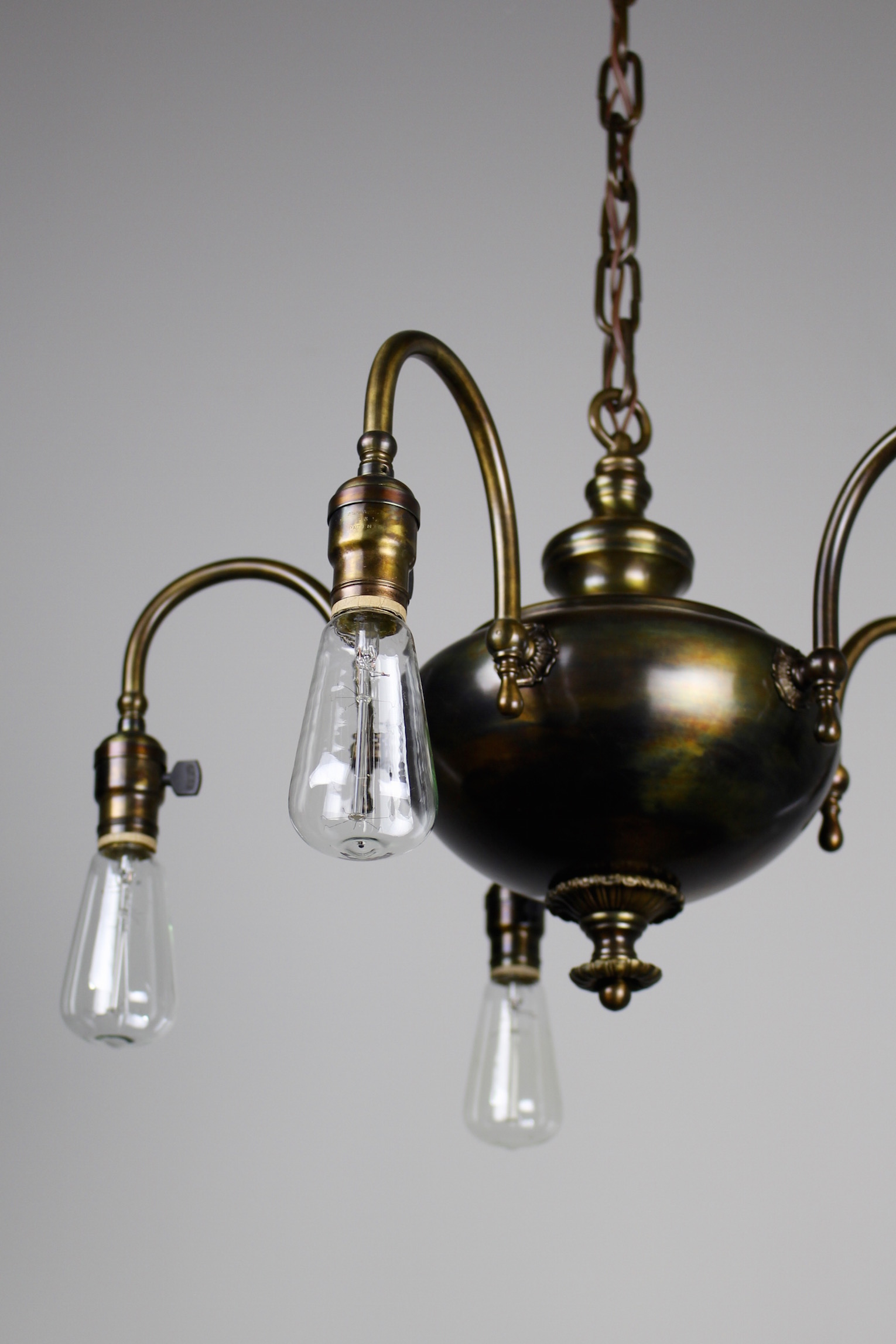 1920s Arts Amp Crafts Fixture 5 Light