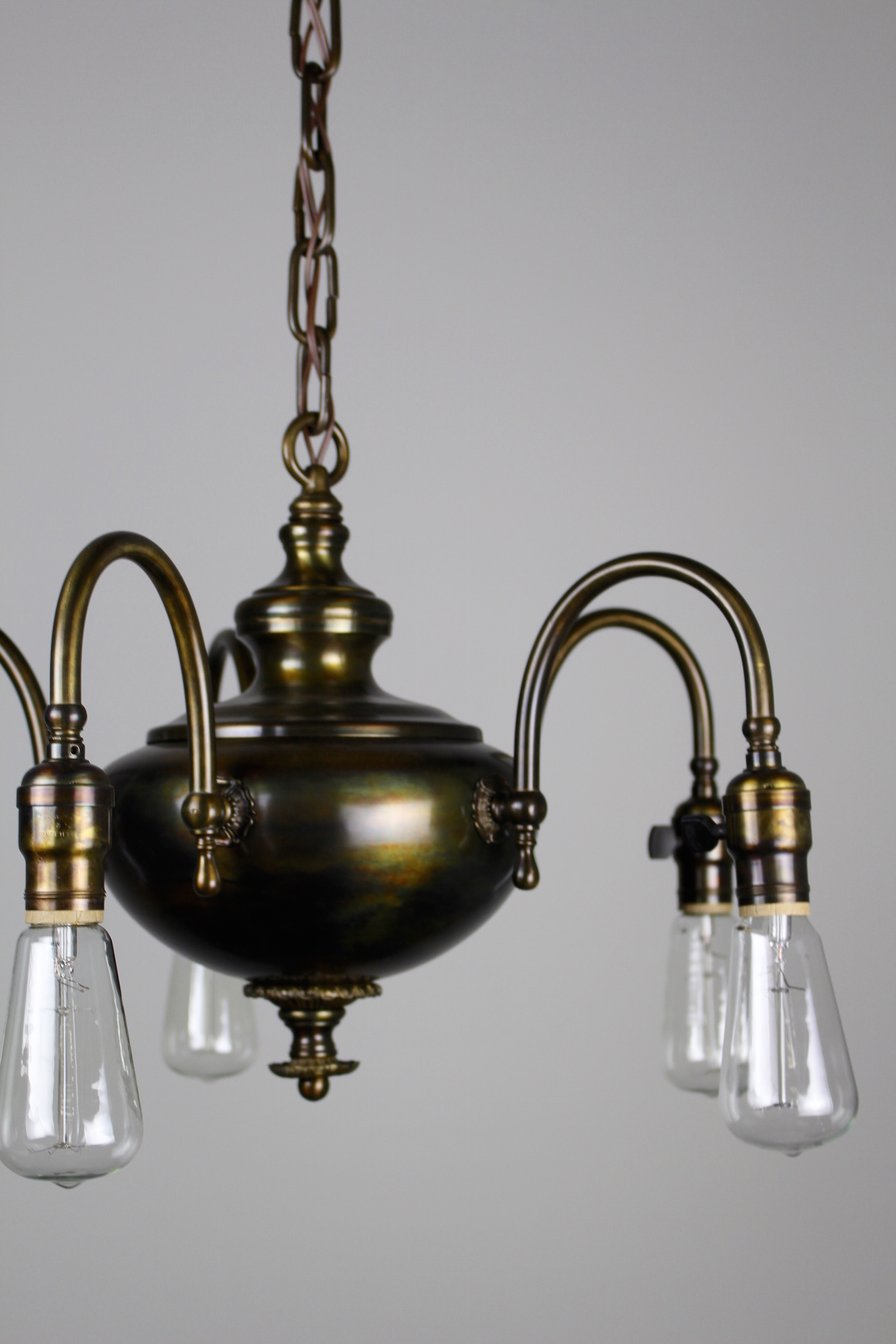 1920s arts crafts fixture 5 light see more antique ceiling lights arubaitofo Choice Image
