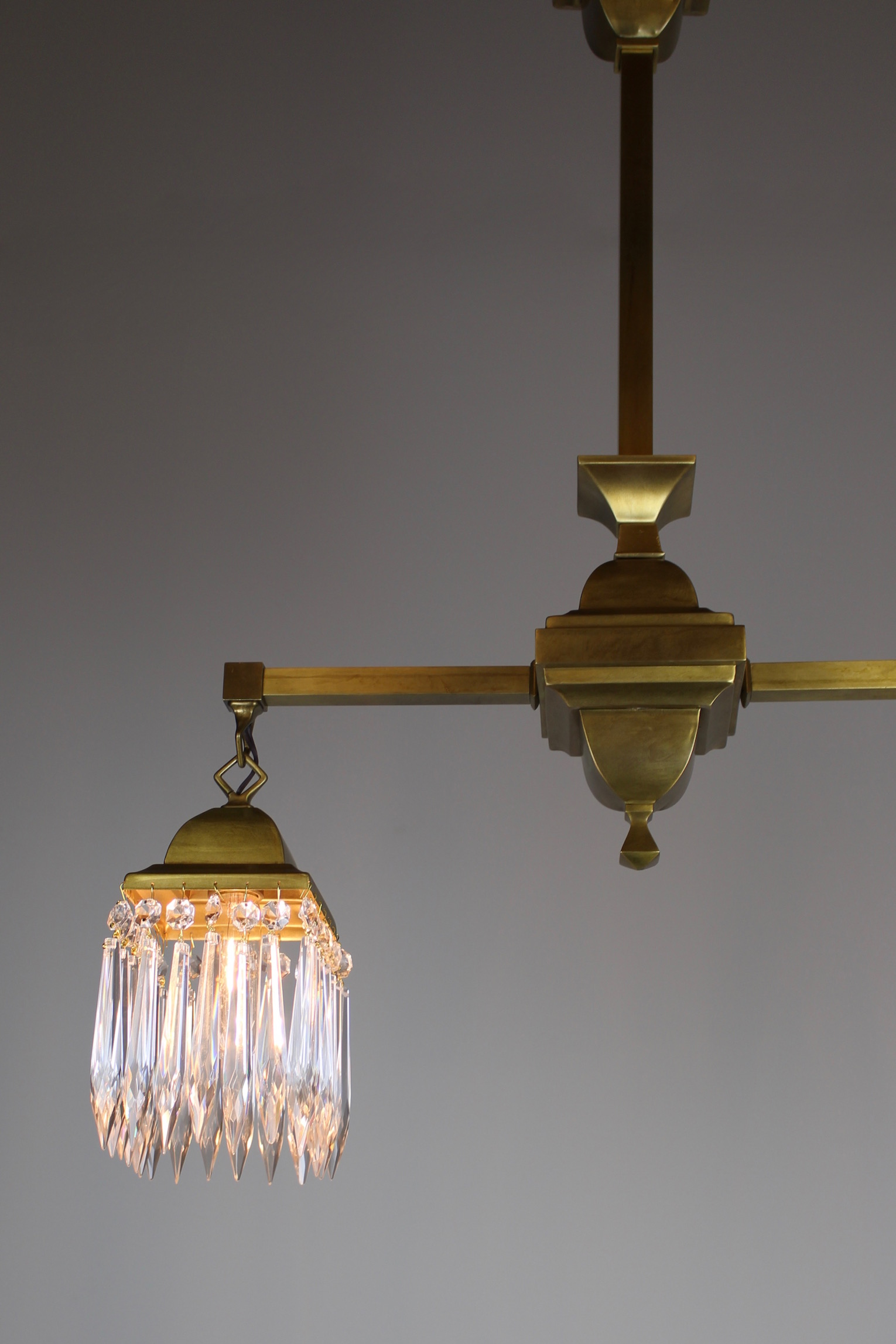 floor corona plenty cable led of chandelier elegant lamp suspended up carlyle mission style