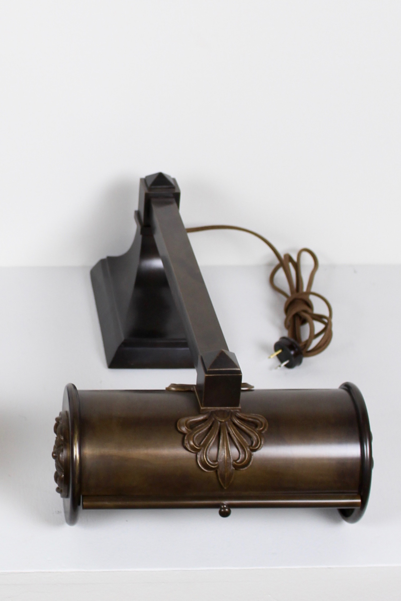 Wonderful Antique Brass Desk Lamp Lamps B Throughout Inspiration Decorating