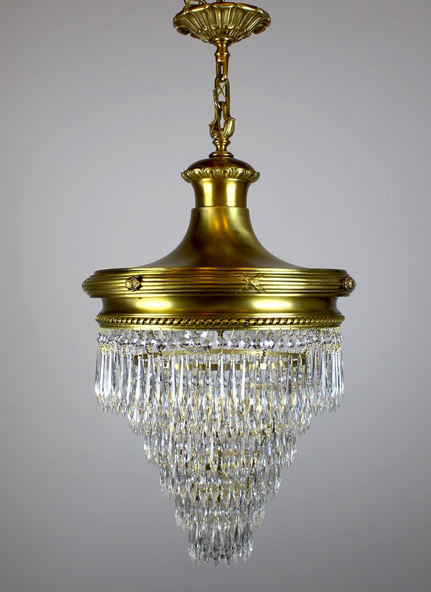 Wedding cake chandelier by r williamson see more antique ceiling lights antique chandeliers antique lighting latest antiques arubaitofo Image collections
